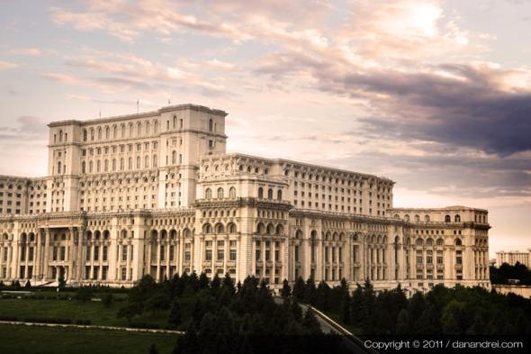 casa poporului / bucharest / romania