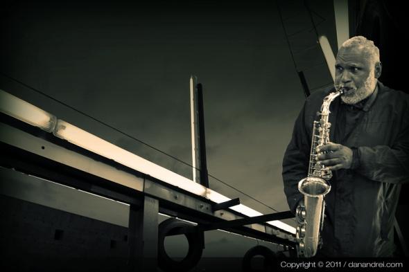 solitude on saxophone